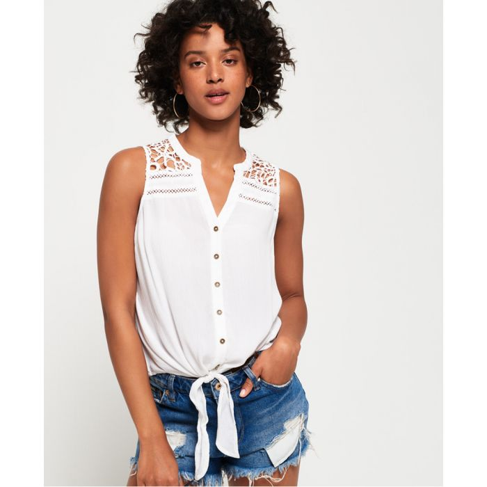 Image for Superdry Isabella Tie Front Shirt