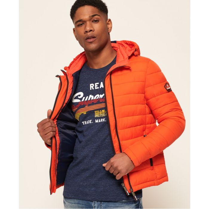 Image for Superdry Fuji Double Zip Hooded Jacket