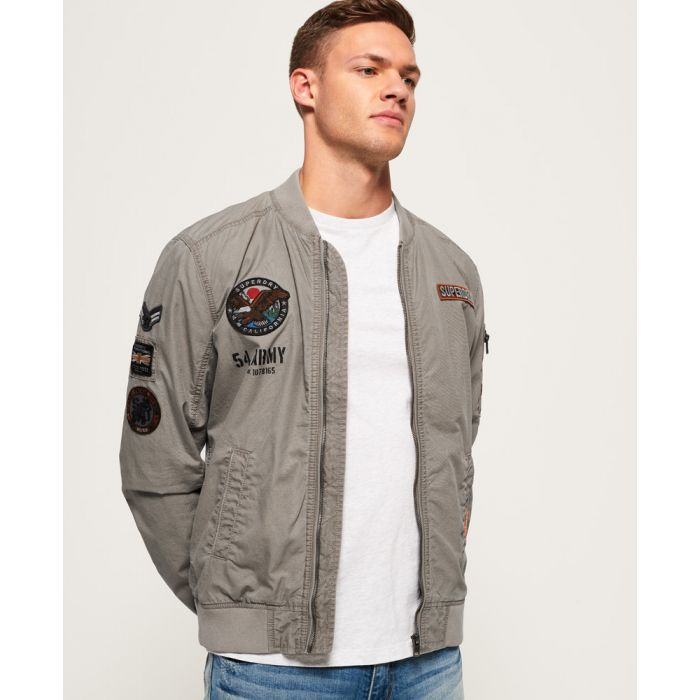 Image for Superdry Rookie Duty Patch Bomber Jacket