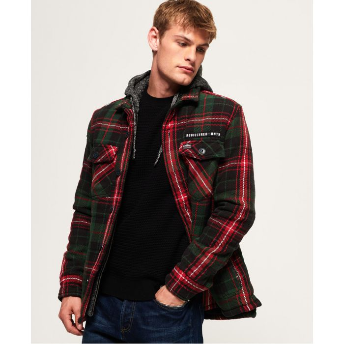 Image for Superdry Everest Storm Hooded Jacket