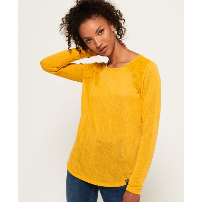 Image for Superdry Seanna Lace Top