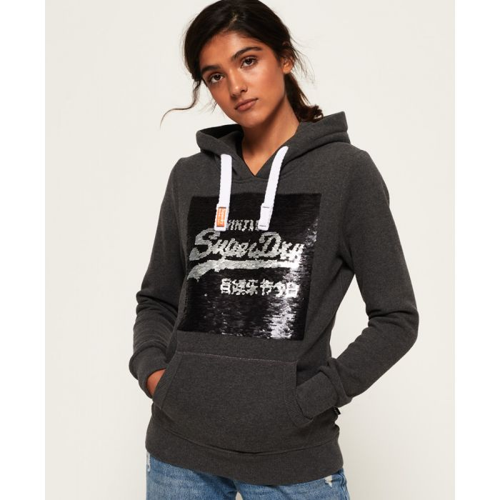 Image for Superdry Premium Sequin Hoodie