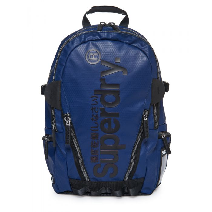 Image for Superdry Silver Tarp Backpack