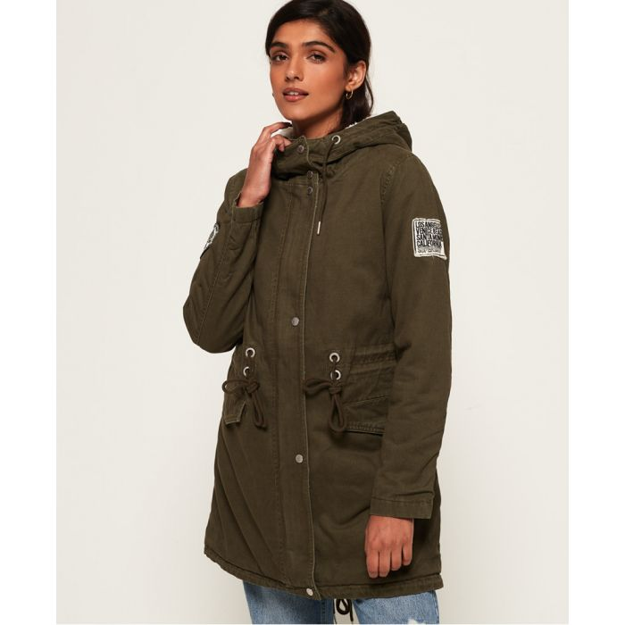 Image for Superdry Rookie Sienna Parka Jacket