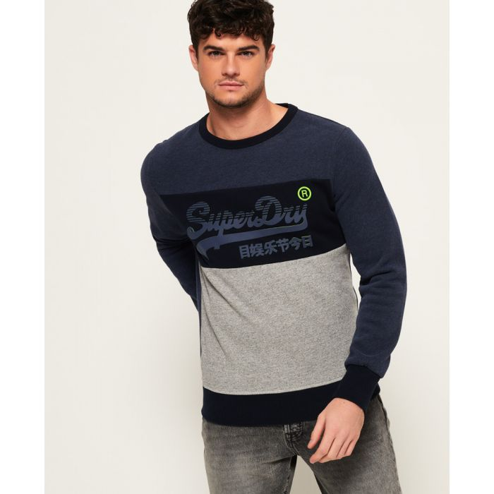 Image for Superdry Vintage Logo Panel Sweatshirt