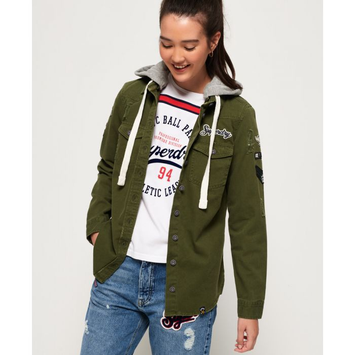 Image for Superdry Maddie Hooded Shirt