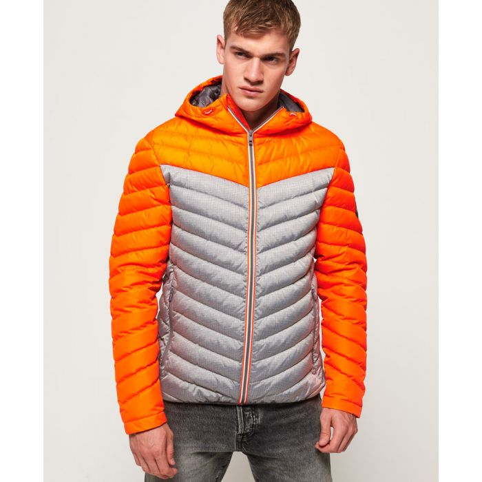 Image for Superdry Chevron Colour Block Down Jacket