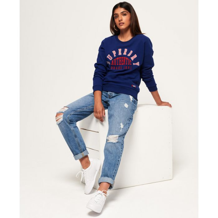 Image for Superdry Urban Street Applique Crew Sweatshirt