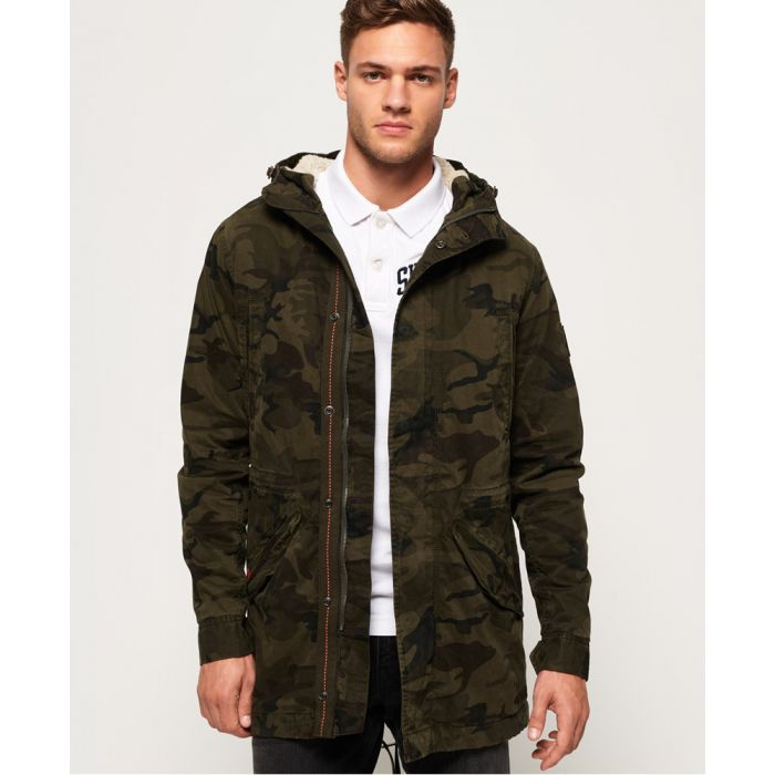 Image for Superdry Military Parka Jacket