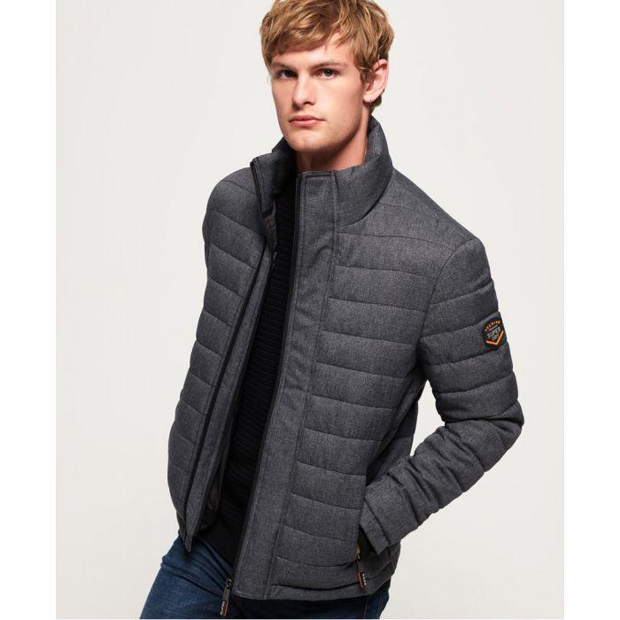 Image for Superdry Tweed Double Zip Fuji Jacket
