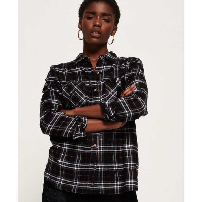 Image for Superdry Aria Check Shirt