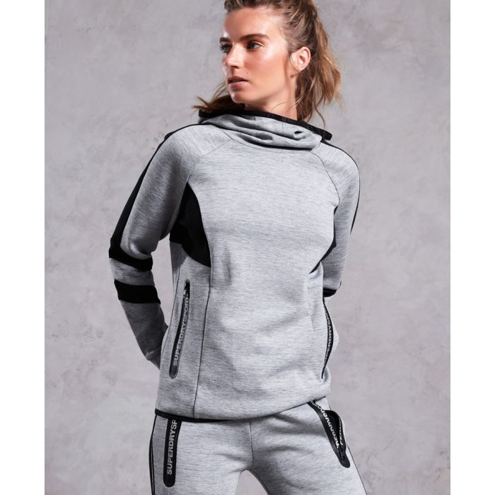 Image for Superdry Core Gym Tech Funnel Hoodie