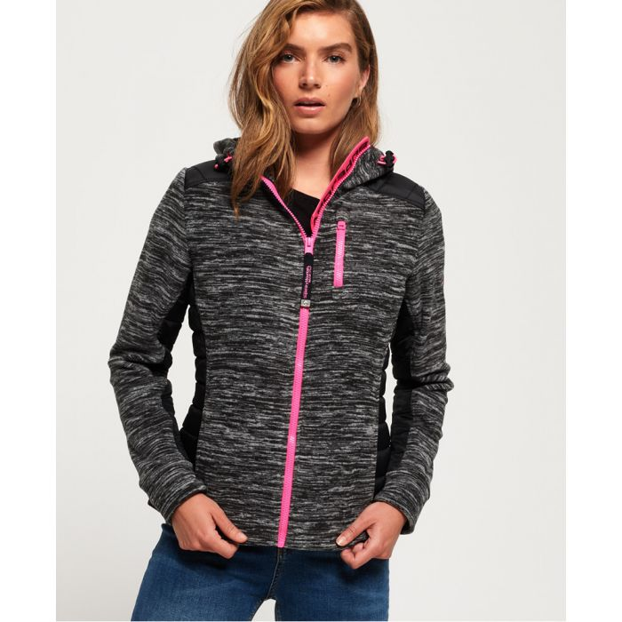 Image for Superdry Storm Hybrid Panel Zip Hoodie