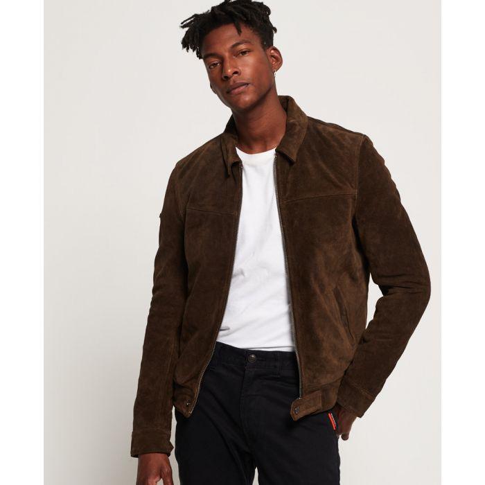 Image for Superdry Superdry Premium Indiana Leather Jacket
