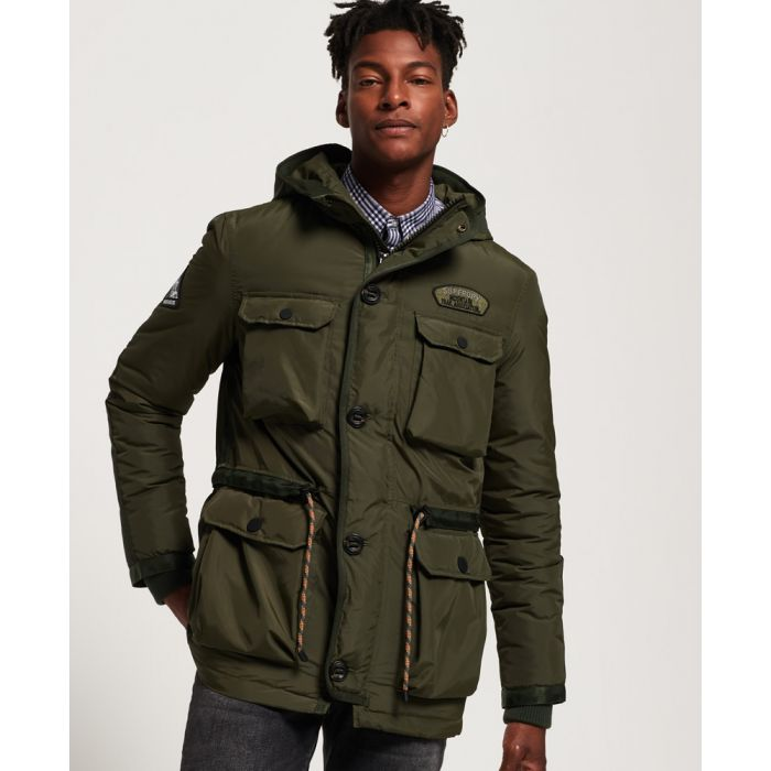 Image for Superdry Sterling Mountain Parka Jacket