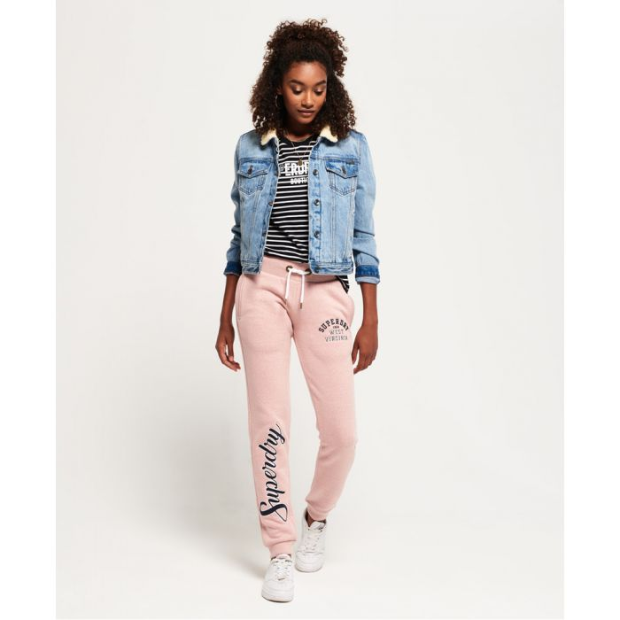 Image for Superdry Aria Applique Slim Joggers