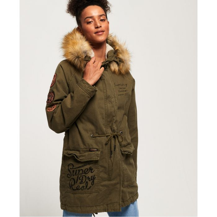 Image for Superdry Rookie Heavy Weather Tiger Parka Jacket