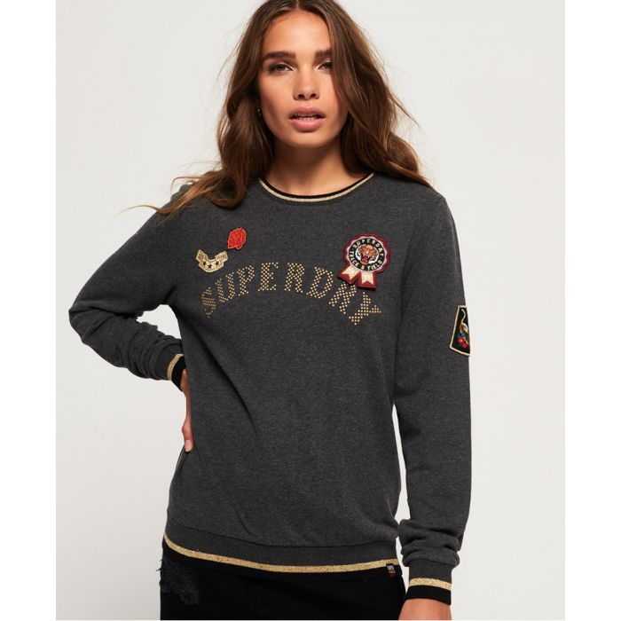 Image for Superdry Rose Army Crew Neck Sweatshirt