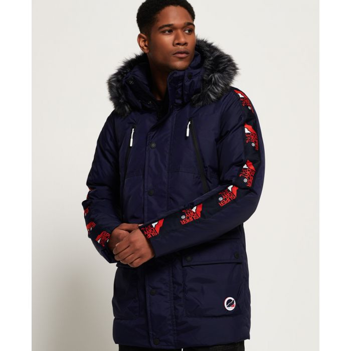 Image for Superdry Canadian Mountain Range Down Parka Jacket