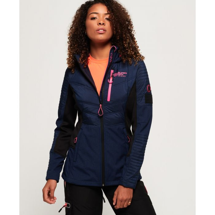 Image for Superdry Softshell Hybrid Jacket