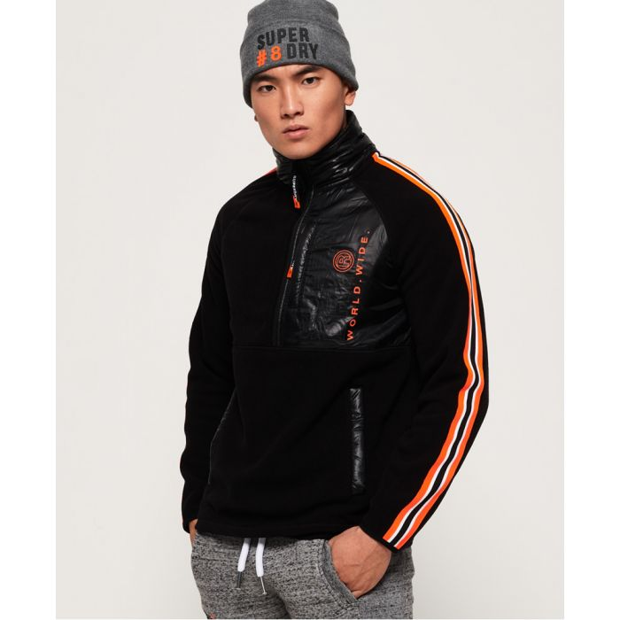 Image for Superdry Mountain Polar Fleece Half Zip Jacket