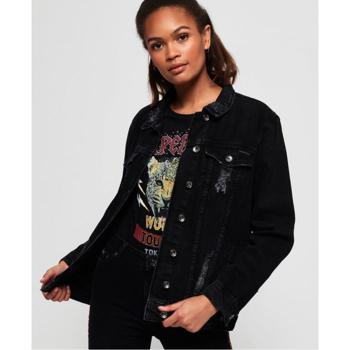 Image for Superdry Longline Denim Jacket