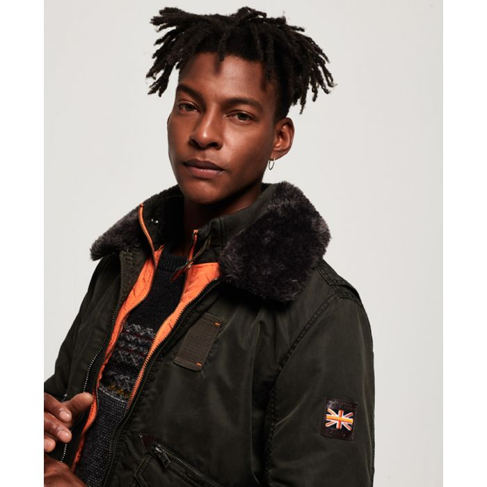 Image for Superdry Winter Hercules Bomber Jacket