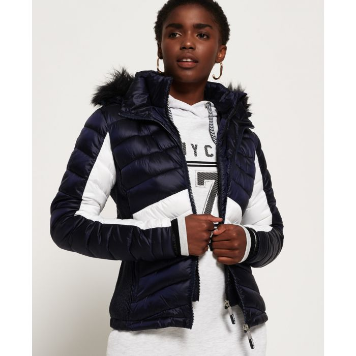 Image for Superdry Offshore Luxe Chevron Fuji Jacket