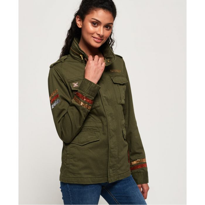 Image for Superdry Glitter Rock Rookie Jacket