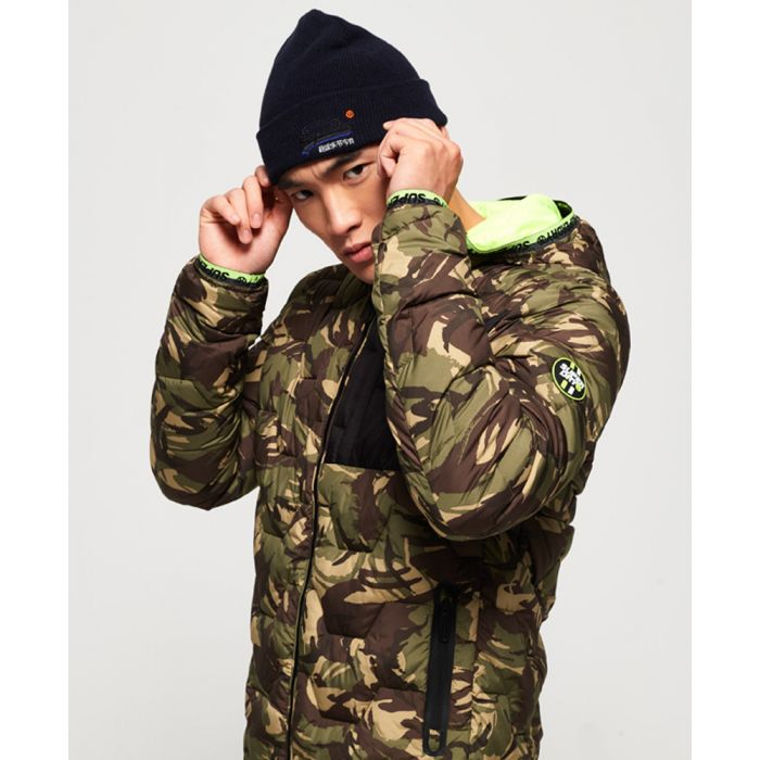 Image for Superdry Hex Quilted Jacket