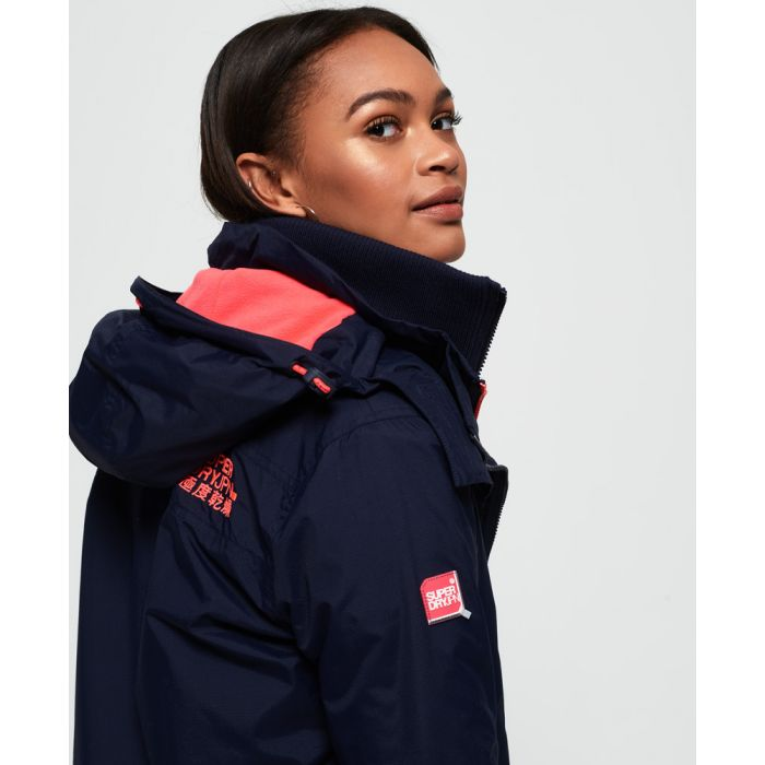 Image for Superdry Pop Zip Hood Arctic SD-Windcheater Jacket