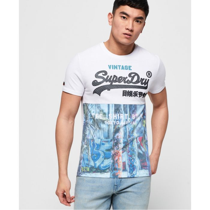 Image for Superdry Shirt Shop Panel All Over Print T-Shirt