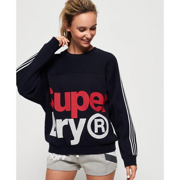 Image for Superdry Athletico Crop Crew Sweatshirt