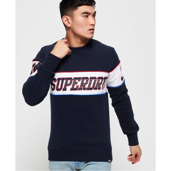 Image for Superdry Retro Stripe Sweatshirt