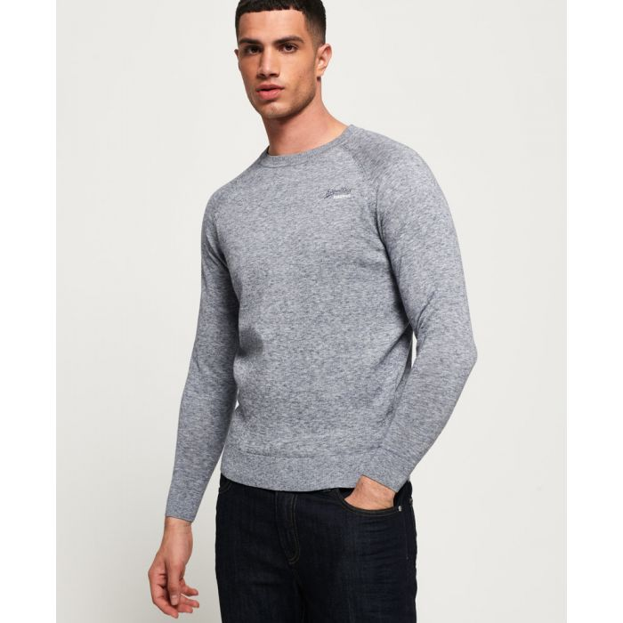 Image for Superdry Cotton Crew Jumper