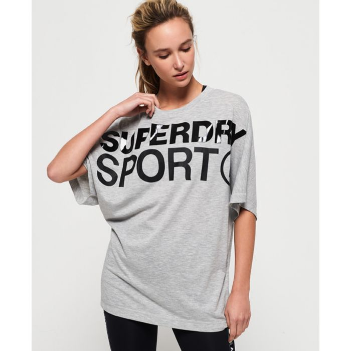 Image for Superdry Active Loose Boyfriend T-Shirt