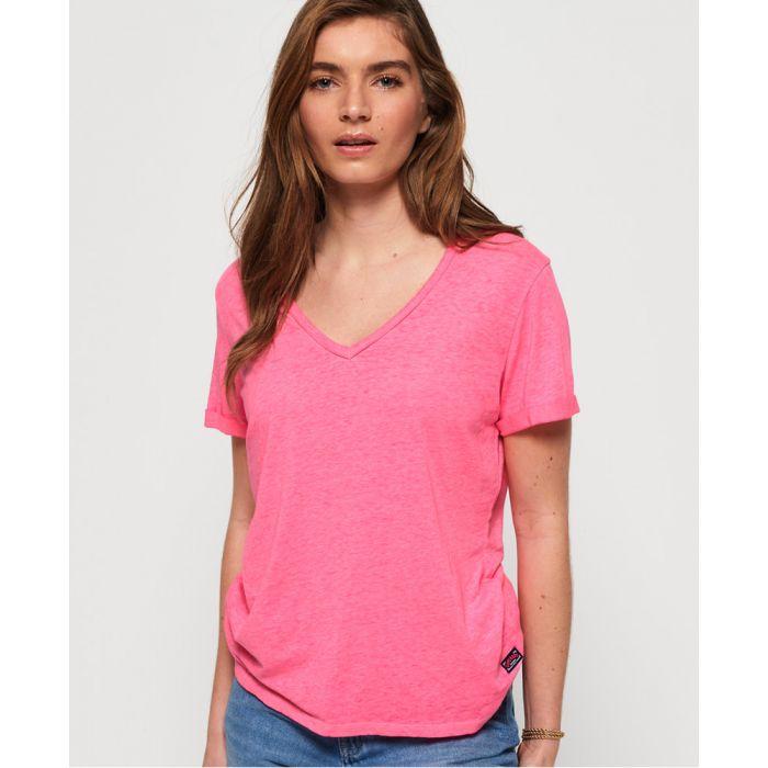 Image for Superdry Burnout Vee T-Shirt