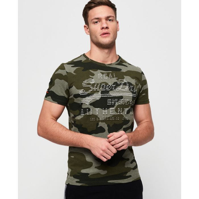 Image for Superdry Vintage Logo Authentic Camo T-Shirt