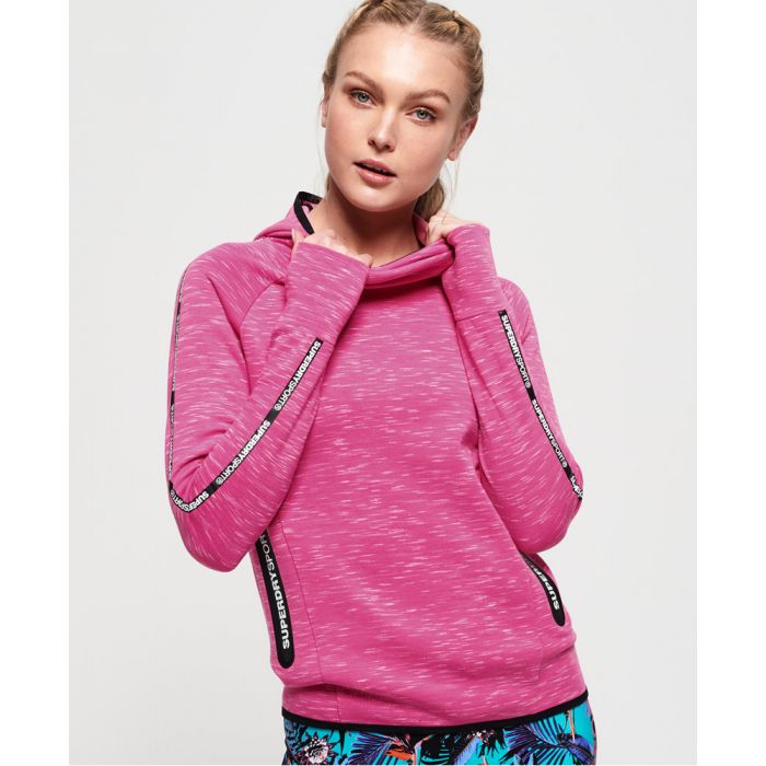Image for Superdry Core Gym Tech Taped Funnel Hoodie