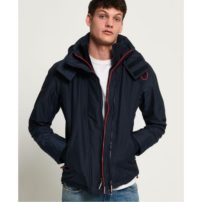 Image for Superdry Hooded Technical Pop Zip SD-Windcheater Jacket