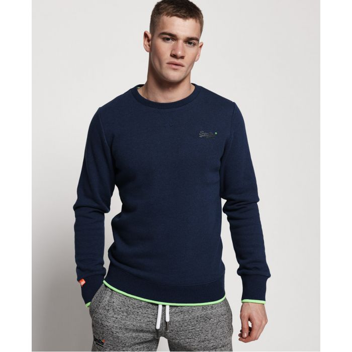 Image for Superdry Orange Label Hyper Pop Crew Sweatshirt