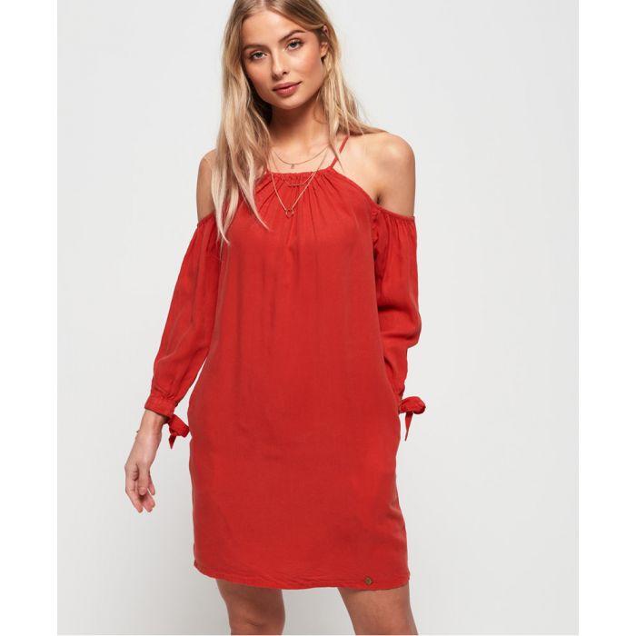 Image for Superdry Eden Cold Shoulder Dress