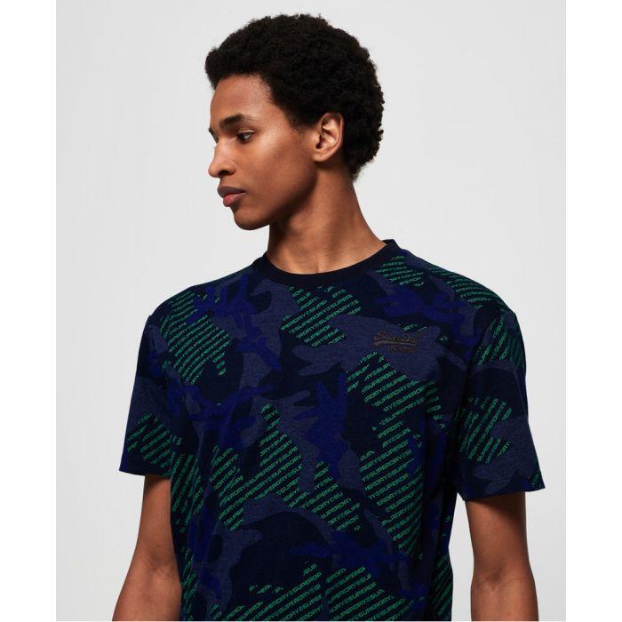 Image for Superdry Orange Label Urban Printed Box T-Shirt