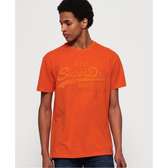 Image for Superdry Vintage Logo Box Fit Applique T-Shirt
