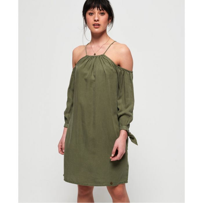 Image for Superdry Eden Cold Shoulder Dress