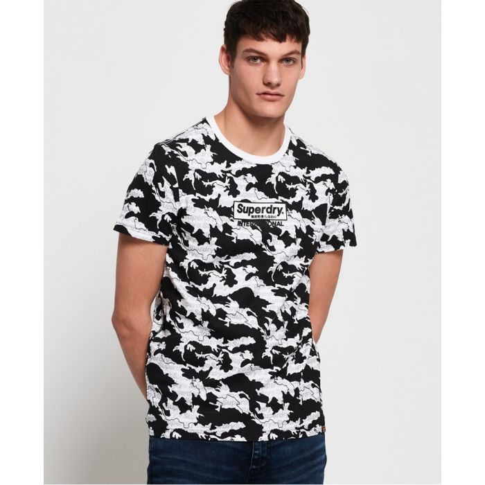 Image for Superdry International Monochrome T-Shirt
