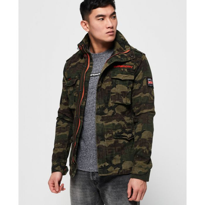 Image for Superdry Super Script Rookie Jacket