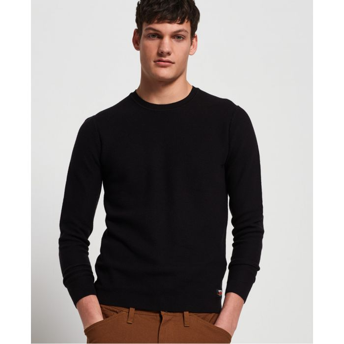 Image for Superdry Supima® Cotton Crew Jumper