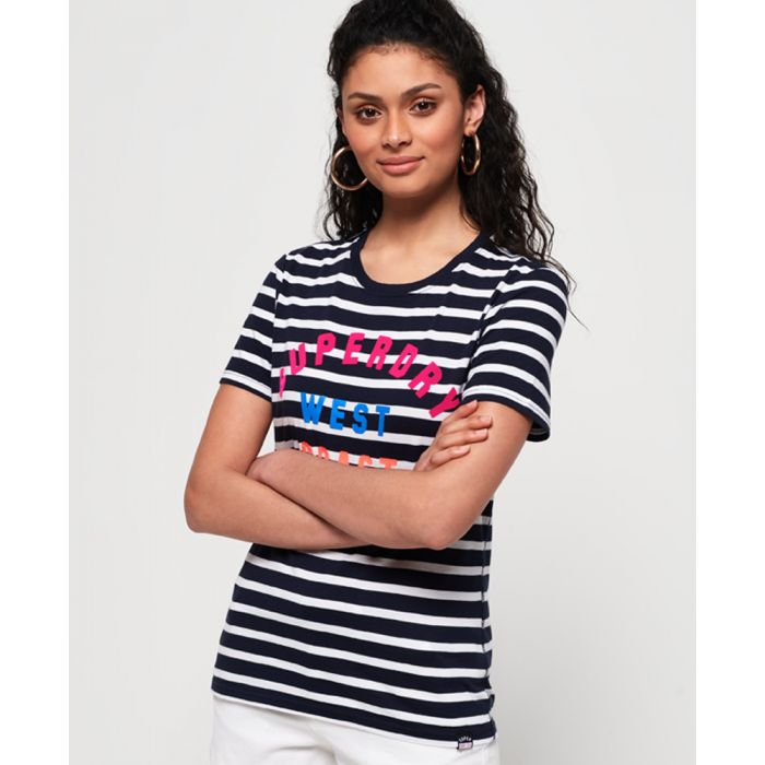 Image for Superdry West Coast Stripe T-Shirt