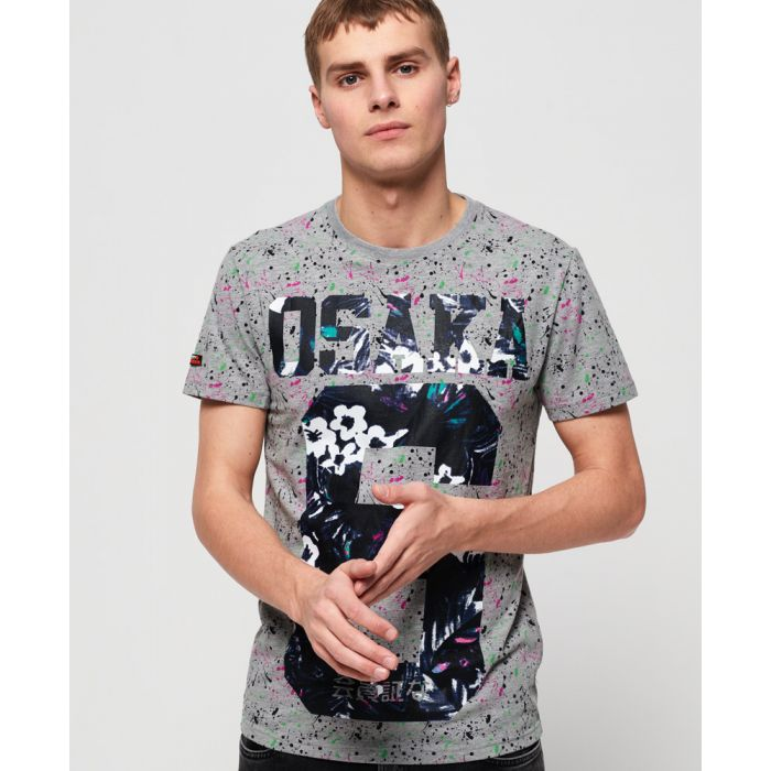 Image for Superdry Osaka All Over Print Lite T-shirt